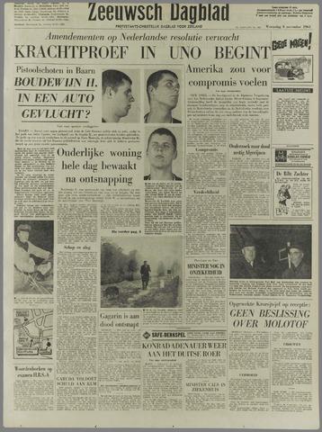 Zeeuwsch Dagblad 1961-11-08