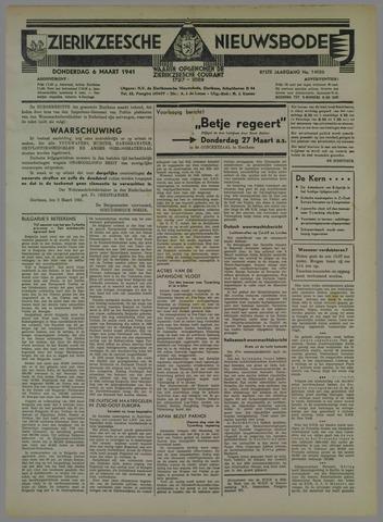 Zierikzeesche Nieuwsbode 1941-03-06