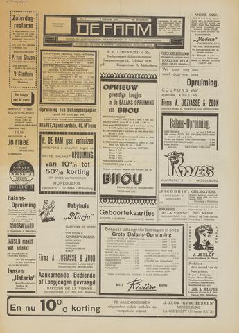 de Faam en de Faam/de Vlissinger 1955