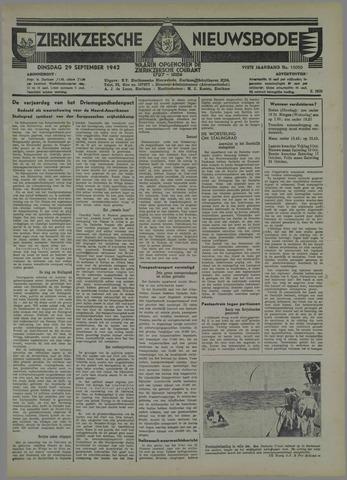 Zierikzeesche Nieuwsbode 1942-09-29