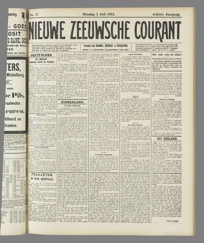 Nieuwe Zeeuwsche Courant 1912-07-02