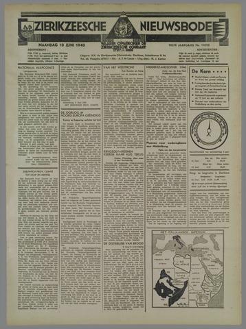 Zierikzeesche Nieuwsbode 1940-06-10