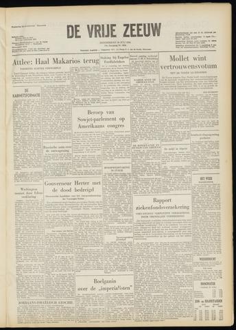 de Vrije Zeeuw 1956-07-26