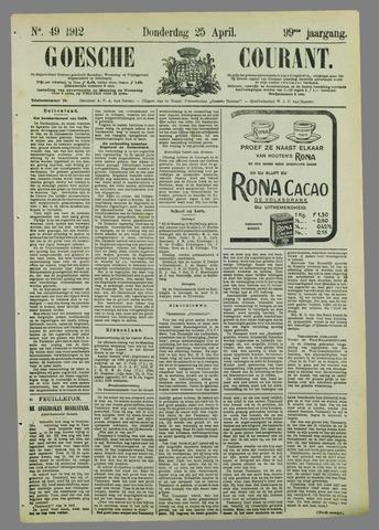 Goessche Courant 1912-04-25