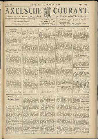 Axelsche Courant 1932-11-08