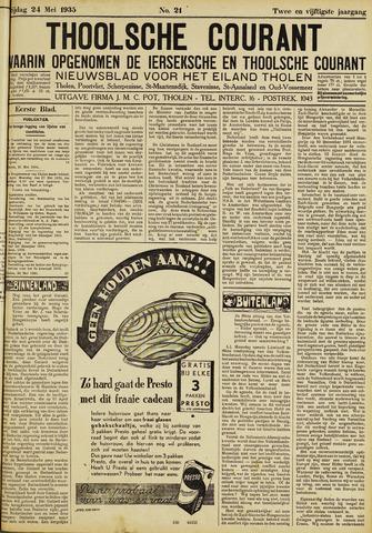 Ierseksche en Thoolsche Courant 1935-05-24