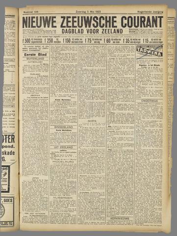 Nieuwe Zeeuwsche Courant 1923-05-05