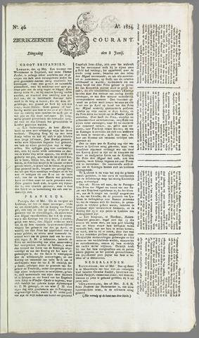 Zierikzeesche Courant 1824-06-08