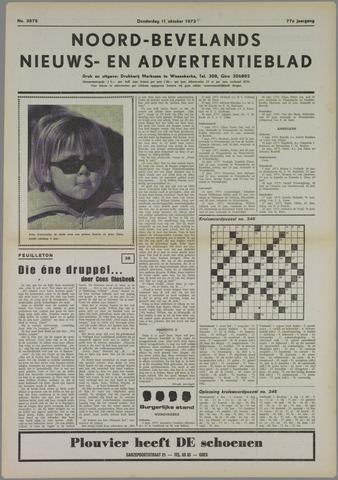Noord-Bevelands Nieuws- en advertentieblad 1973-10-11
