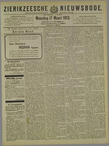 Zierikzeesche Nieuwsbode 1913-03-17