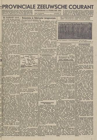 Provinciale Zeeuwse Courant 1943-02-11