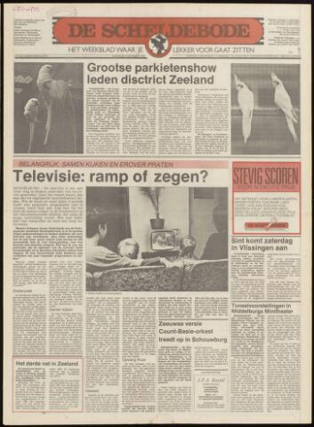 Scheldebode 1986-11-13