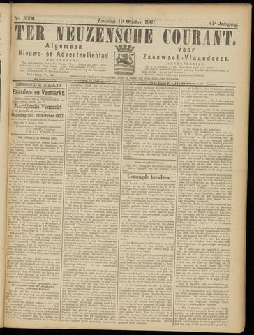 Ter Neuzensche Courant. Algemeen Nieuws- en Advertentieblad voor Zeeuwsch-Vlaanderen / Neuzensche Courant ... (idem) / (Algemeen) nieuws en advertentieblad voor Zeeuwsch-Vlaanderen 1907-10-19