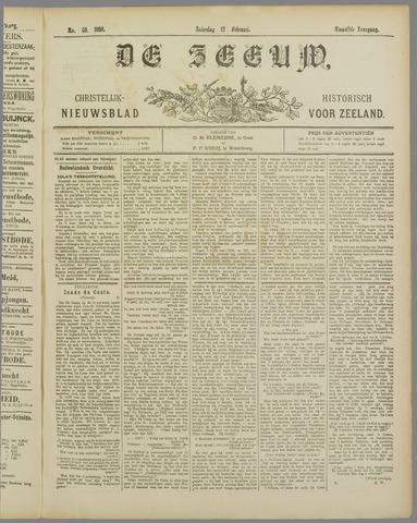De Zeeuw. Christelijk-historisch nieuwsblad voor Zeeland 1898-02-12