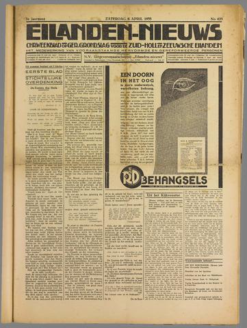 Eilanden-nieuws. Christelijk streekblad op gereformeerde grondslag 1935-04-06