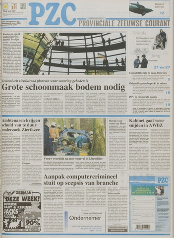 Provinciale Zeeuwse Courant 2004-03-03