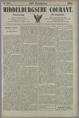Middelburgsche Courant 1882-08-10
