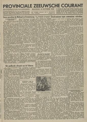 Provinciale Zeeuwse Courant 1943-10-18