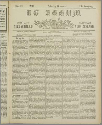 De Zeeuw. Christelijk-historisch nieuwsblad voor Zeeland 1910-01-08