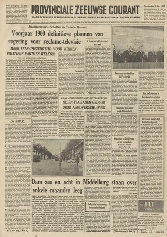 Provinciale Zeeuwse Courant 1959-12-03