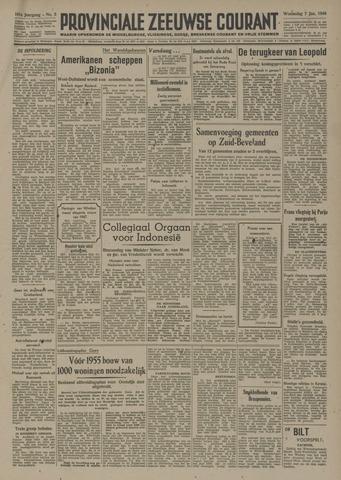 Provinciale Zeeuwse Courant 1948-01-07