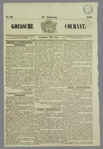 Goessche Courant 1854-04-27