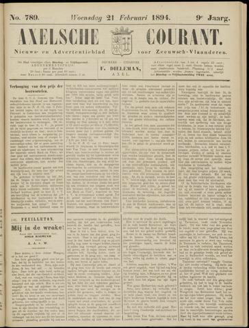 Axelsche Courant 1894-02-21