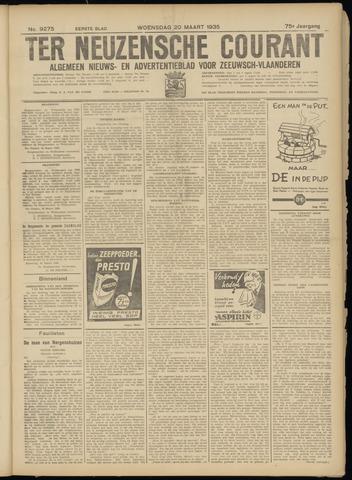 Ter Neuzensche Courant. Algemeen Nieuws- en Advertentieblad voor Zeeuwsch-Vlaanderen / Neuzensche Courant ... (idem) / (Algemeen) nieuws en advertentieblad voor Zeeuwsch-Vlaanderen 1935-03-20