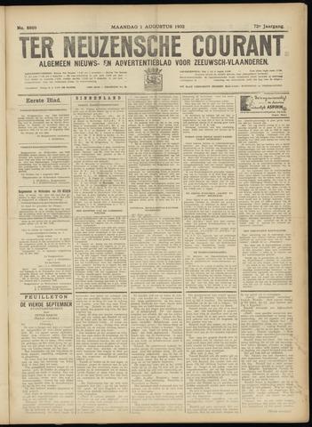 Ter Neuzensche Courant. Algemeen Nieuws- en Advertentieblad voor Zeeuwsch-Vlaanderen / Neuzensche Courant ... (idem) / (Algemeen) nieuws en advertentieblad voor Zeeuwsch-Vlaanderen 1932-08-01