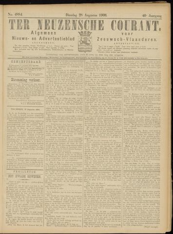 Ter Neuzensche Courant. Algemeen Nieuws- en Advertentieblad voor Zeeuwsch-Vlaanderen / Neuzensche Courant ... (idem) / (Algemeen) nieuws en advertentieblad voor Zeeuwsch-Vlaanderen 1906-08-28