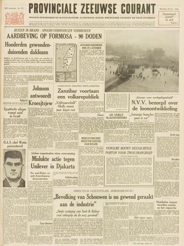 Provinciale Zeeuwse Courant 1964-01-20