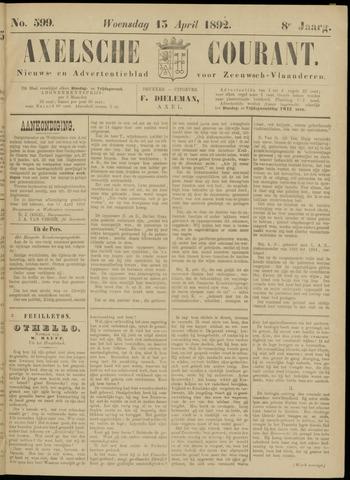 Axelsche Courant 1892-04-13