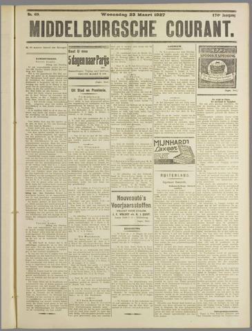 Middelburgsche Courant 1927-03-23