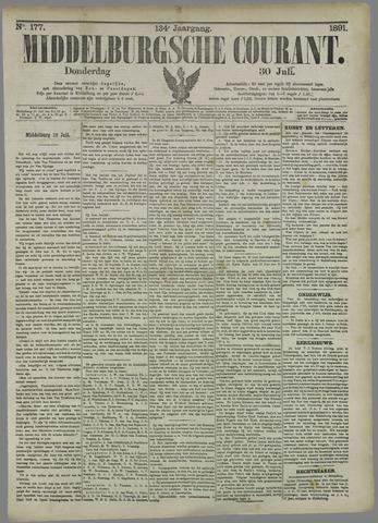 Middelburgsche Courant 1891-07-30
