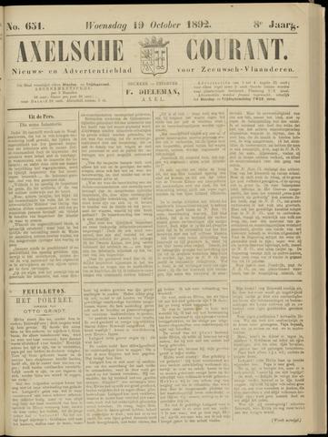 Axelsche Courant 1892-10-19