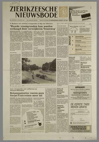Zierikzeesche Nieuwsbode 1991-08-22