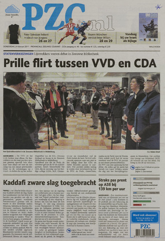 Provinciale Zeeuwse Courant 2011-02-24