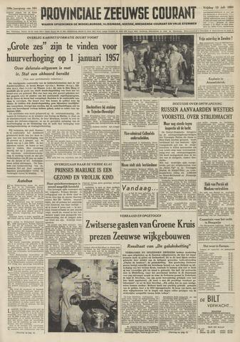 Provinciale Zeeuwse Courant 1956-07-13