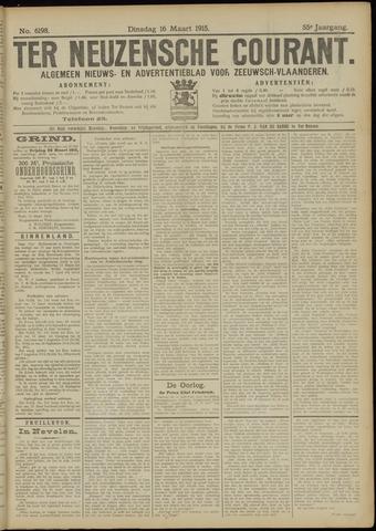 Ter Neuzensche Courant. Algemeen Nieuws- en Advertentieblad voor Zeeuwsch-Vlaanderen / Neuzensche Courant ... (idem) / (Algemeen) nieuws en advertentieblad voor Zeeuwsch-Vlaanderen 1915-03-16