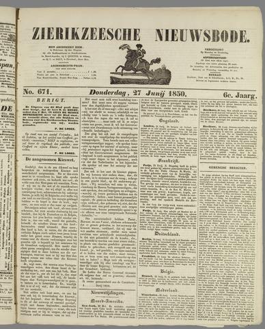 Zierikzeesche Nieuwsbode 1850-06-27