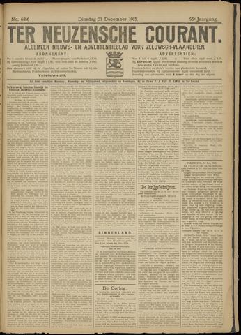 Ter Neuzensche Courant. Algemeen Nieuws- en Advertentieblad voor Zeeuwsch-Vlaanderen / Neuzensche Courant ... (idem) / (Algemeen) nieuws en advertentieblad voor Zeeuwsch-Vlaanderen 1915-12-21