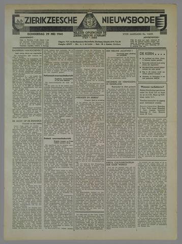 Zierikzeesche Nieuwsbode 1941-05-29