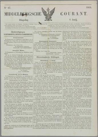 Middelburgsche Courant 1854-06-06