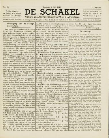 De Schakel 1945-07-02