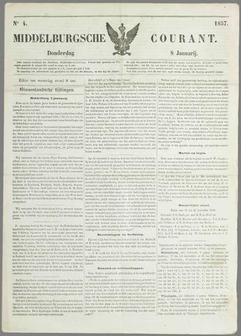 Middelburgsche Courant 1857-01-08