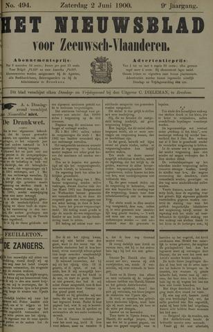 Nieuwsblad voor Zeeuwsch-Vlaanderen 1900-06-02
