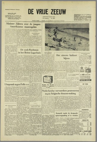 de Vrije Zeeuw 1963-07-24