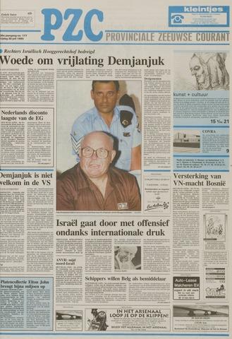 Provinciale Zeeuwse Courant 1993-07-30