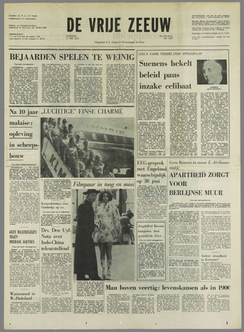 de Vrije Zeeuw 1970-05-12