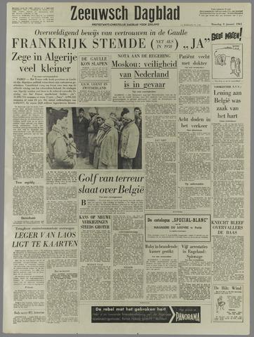 Zeeuwsch Dagblad 1961-01-09